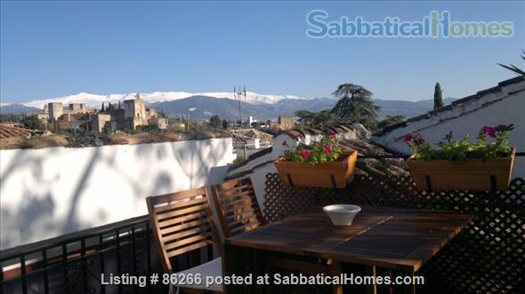 ALBAICIN HOUSE WITH PARKING. WIFI. BEAUTIFUL VIEWS ALHAMBRA Home Rental in Granada, AN, Spain 1